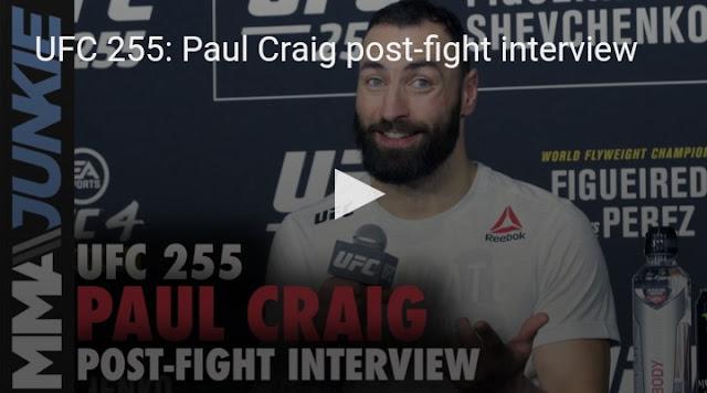 UFC255 results: Paul Craig makes 'Shogun' Rua tap to strikes in rematch