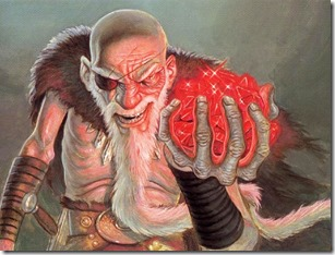 Portrait of Cohen the Barbarian by Paul Kidby