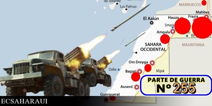 Parte de Guerra Nº 255. Guerra del Sáhara Occidental.