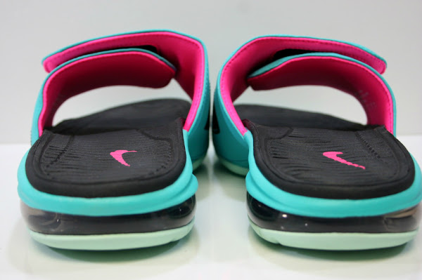 Nike LeBron Air Slide 8220South Beach8221 Available at Eastbay
