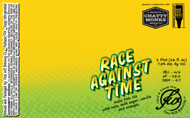 Free Will & Chatty Monk Collaborate On Race Against Time