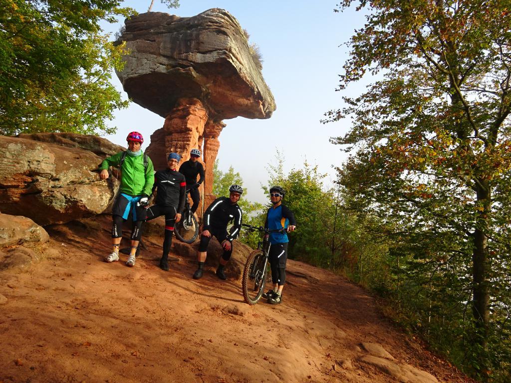 Spessart-Biker Vereinsausflug Pfalz 2016