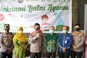 Kapolda Sulsel Hadiri Pembukaan Pelaksanaan Vaksinasi Covid-19 Lintas Agama , Kerjasama Muhammadiyah  dan Polda Sulsel