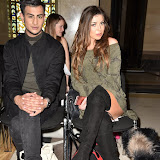 OIC - ENTSIMAGES.COM - Junaid Ahmed and Abi Clarke at the  LFW a/w 2016: Fashion DNA Pakistan - catwalk showw  in London 20th February 2016 Photo Mobis Photos/OIC 0203 174 1069