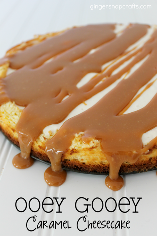 Ooey Gooey Caramel Cheesecake at GingerSnapCrafts.com #cbias #shop_thumb[1]