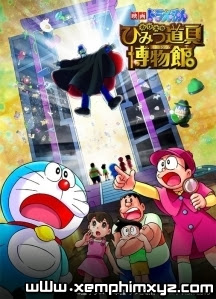 Đôrêmon Nôbita Và Viện Bảo Tàng Tối Mật - Doraemon The Movie: Nobita&#39s Secret Gadget Museum