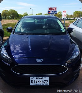 Ford Focus Rental 03262016
