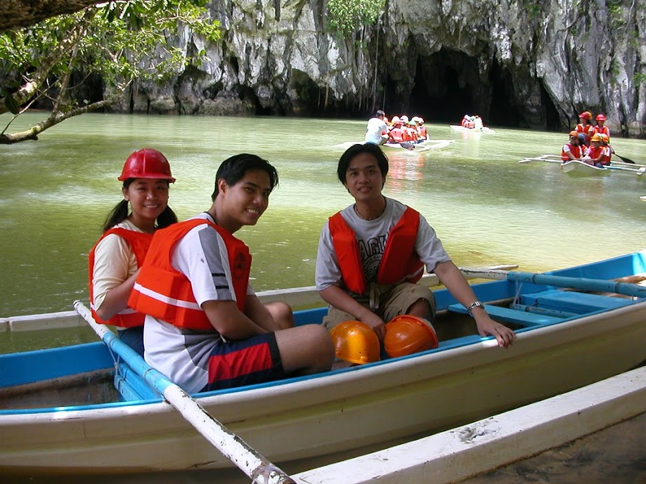 PauTravels At the mouth of Puerto Princesa's Subterranean River