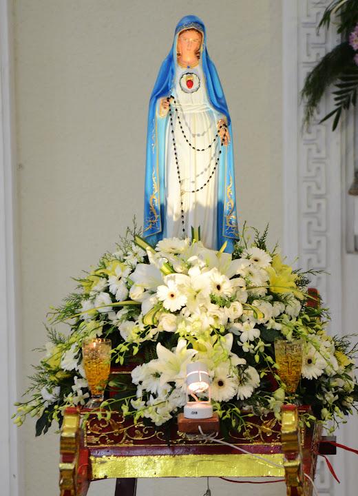 Ảnh-lễ Mẹ Fatima 13.10