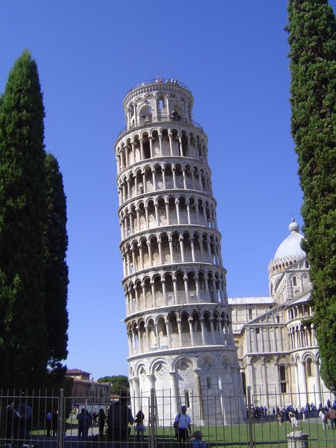 Leaning tower of Piza