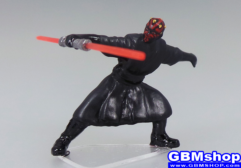 star wars miniature Imperial Assault Darth Maul Dark Lord of the Sith Jedi Knight #12 Revenge of the Sith Star Wars Miniatures Custom Customize and Painting
