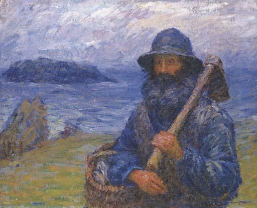 John Peter Russell - Belle-Ile, Le Père Polyte (Polyte pêcheur)