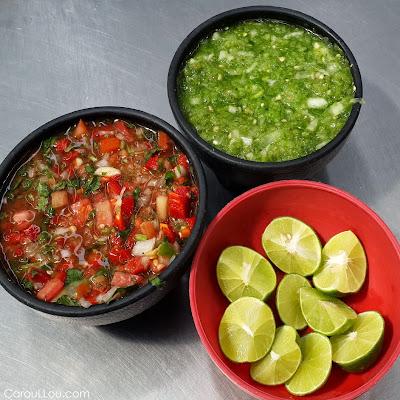CarouLLou.com Carou LLou in Mexico city condiments +