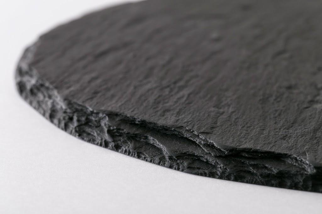 Suzuri Black Slate Cheese Plate