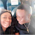 See this adorable photo of Mr Ibu and Bimbo Akintola on a plane