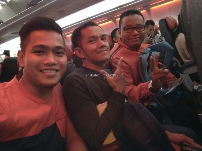di dalam flight air asia