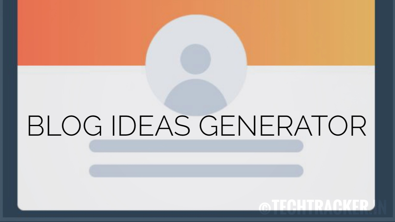 How to generate ideas for your blog articles!