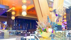 Lobby inside Aria Las Vegas