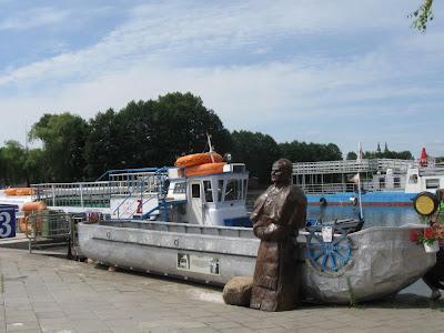 Kamienny Szlak Papieski na Kanale Augustowskim