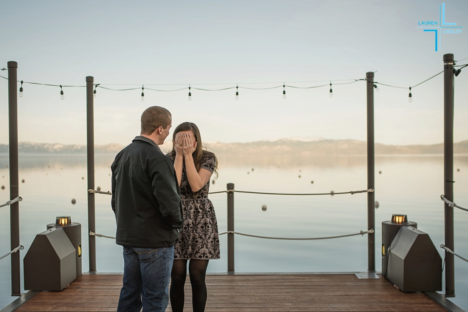 Propose at Lake Tahoe