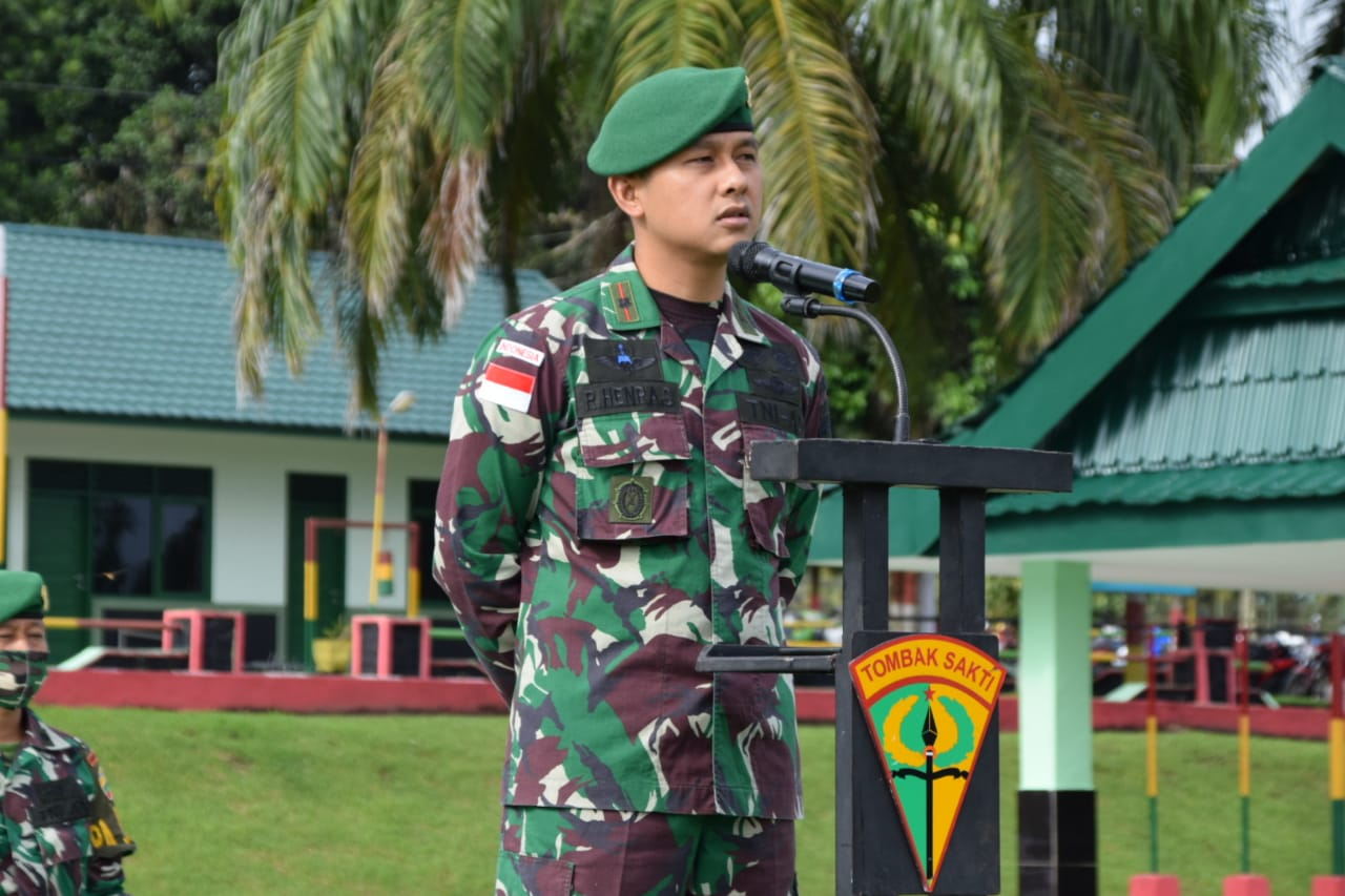 Netralitas Prajurit Batalyon 122/TS Dalam Pilkada Adalah Harga Mati