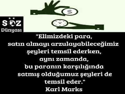 Karl Marx Sözleri Söz Dünyası