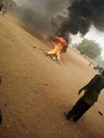 Bauchi Nigeria:  Man Burnt To Death For Blasphemy