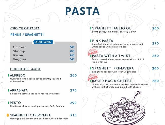 Sector 7 Cafe menu 3