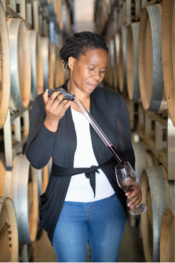 Ntsiki Biyela is the first black female winemaker making waves in her sector.
