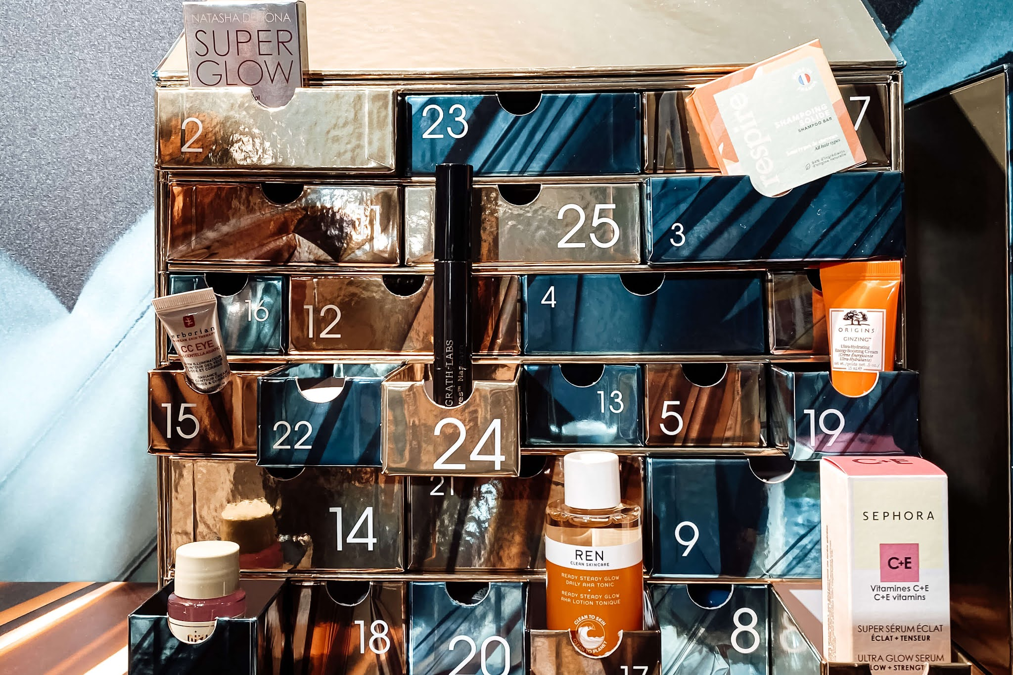 Sephora Favorites Calendrier de l'Avent 2020