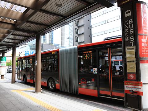 新潟交通 萬代橋線BRT 連接バス ・・・1 万代シティにて