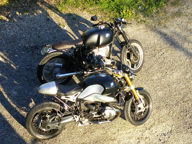 stylerides zurich custom bmw r80 vs r ninet. Black Bedroom Furniture Sets. Home Design Ideas