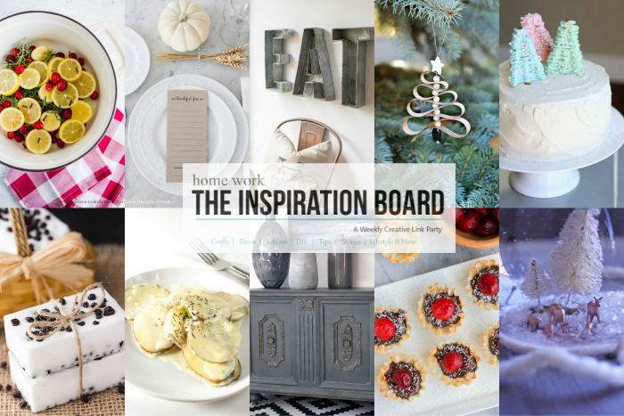 The Inspiration Board Features 284
