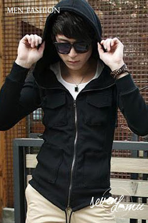 seven domu hooded jacket korean style sk21 2
