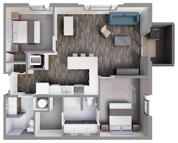 Go to Crown Floorplan page.