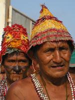 Os Munduruku no I Encontro dos 4 Rios Foto: Telma Monteiro