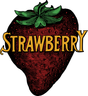 strawberry-text