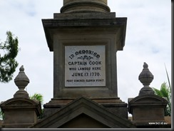 180502 059 Cooktown Capt Cook Memorial