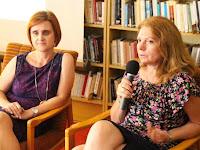 37 Bolgár Katalin könyvét Bolemant Lilla ismertette.JPG