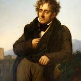 Musée d'Histoire : portrait de Chateaubriand méditant sur les ruines de Rome par Girodet (1808)