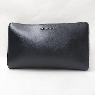 MIchael Kors Black Metallic Crossbody Bag