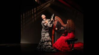 Anabel Veloso, durante su actuación en Nueva York.