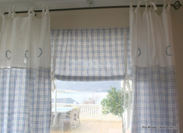 Fru Rosas Hjem: Fole fine gardiner til salgs :)