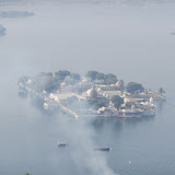 Udaipur, viewed from Karni Mata Temple site