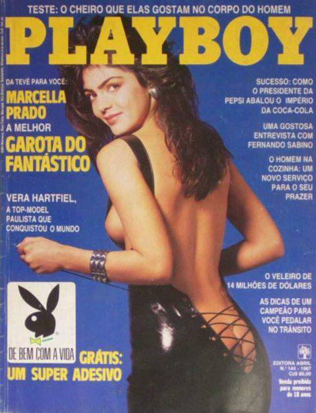 Marcella Prado - Playboy 1987