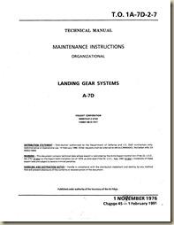 LTV A-7D Landing Gear Systems_01