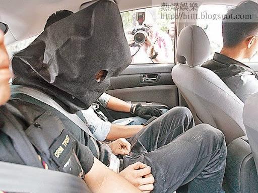 疑犯被押返案發現場調查。(互聯網圖片)