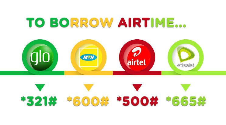 How To Borrow Airtime or Data From Any Network