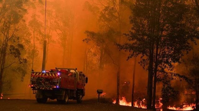 Avustralya sıcaktan kavruluyor