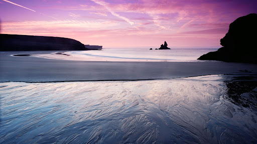 Sunrise, Broadhaven, South Pembrokeshire National Park, Wales.jpg